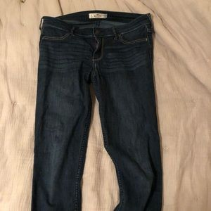 Hollister low rise denim jeans